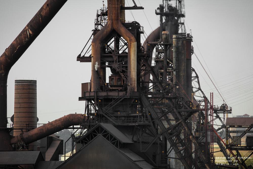 Blast Furnace Lime : Cleveland c blast furnace monk one