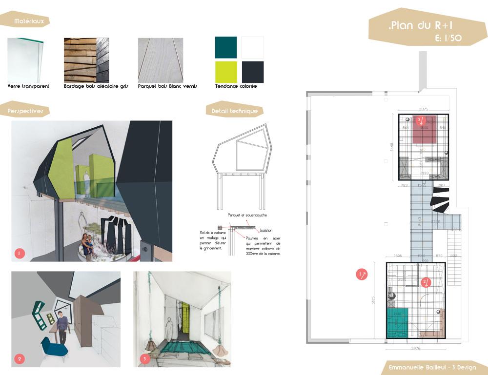 am nagement d 39 un loft pour 4 personnes eb. Black Bedroom Furniture Sets. Home Design Ideas